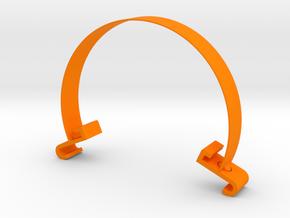 violin bowing corrector in Orange Processed Versatile Plastic