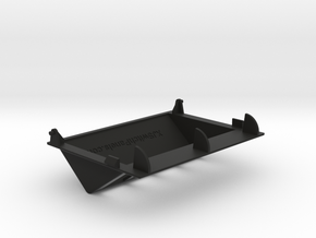 4 Contura switch garage door panel in Black Strong & Flexible