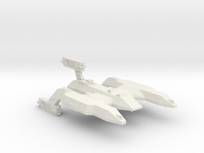 3788 Scale Lyran Wildcat Battlecruiser (BC) CVN in White Natural Versatile Plastic