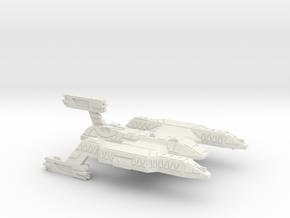 3125 Scale Lyran Wildcat Battlecruiser (BC) CVN in White Natural Versatile Plastic