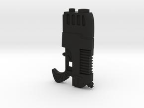 Plasma Pistol | Warhammer 40K inspired | Life-size in Black Natural Versatile Plastic