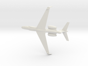1/350 Gulfstream G550 CAEW in White Natural Versatile Plastic