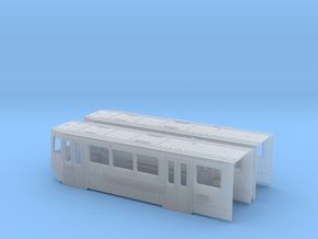HO SD100 LRV Body 2-shell Set in Smooth Fine Detail Plastic