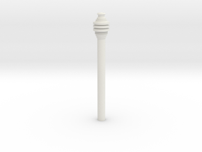 Imperial Code Cylinder in White Natural Versatile Plastic