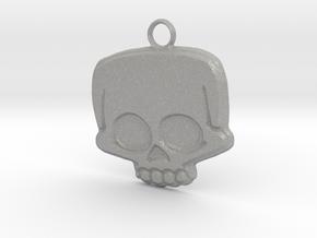 Funny Skull in Aluminum