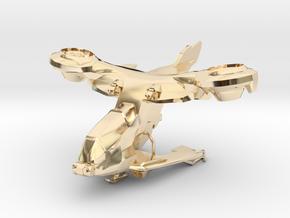 AV-14 Hornet  1:100 in 14K Yellow Gold