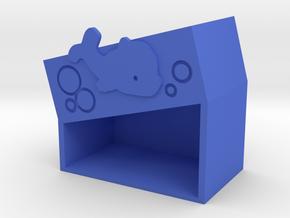 dolphin-b in Blue Processed Versatile Plastic