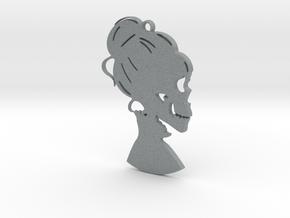 """hers"" Pendant in Polished Metallic Plastic"
