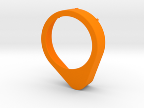 Abdeckung für Kaminverstellung in Orange Processed Versatile Plastic