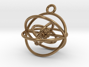 Oxygen Atom in Natural Brass