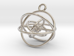 Oxygen Atom in Rhodium Plated Brass