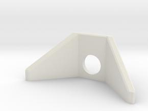 N Scale Culvert Wing Walls ø4mm in White Natural Versatile Plastic