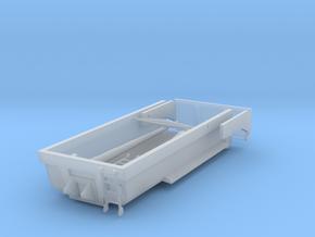 1/87 HO Tiefbaumulde 27t, 5,5m mit Hubzylinder in Smooth Fine Detail Plastic