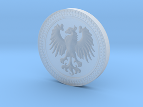 Eagle Medal in Smooth Fine Detail Plastic