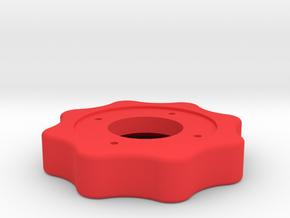 Dehaviland Mosquito main friction wheel in Red Processed Versatile Plastic