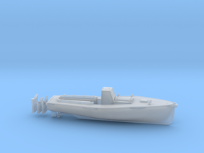 1/200 IJN Motor Boat Cutter 11m 60hp in Smooth Fine Detail Plastic