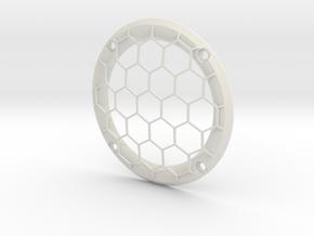 RM30 Zierring Gitter M4 in White Natural Versatile Plastic