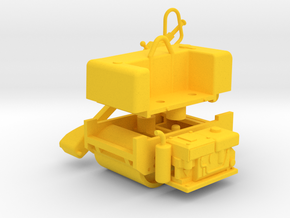 Walze in Yellow Processed Versatile Plastic