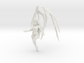 1/7 QoB Kerrigan Hover Pose in White Natural Versatile Plastic