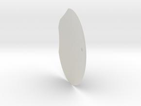 12th scale dome-G-1 in White Natural Versatile Plastic