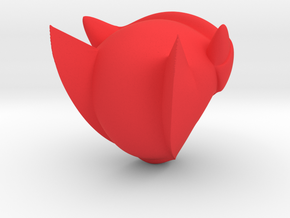 Mega Man Z Helmet in Red Processed Versatile Plastic
