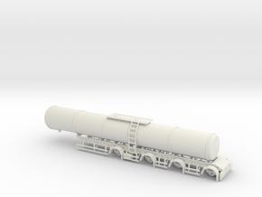 000562 HO Tankauflieger Schweden 1:87 in White Natural Versatile Plastic: 1:87