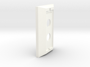 Hue Dimmer Decora Cover in White Processed Versatile Plastic