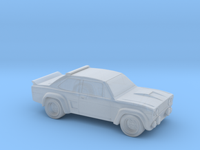 CAR in Smooth Fine Detail Plastic: Extra Small