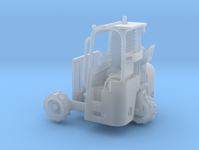 Truck Mounted Forklift 1-87 HO Scale Positional (F in Smooth Fine Detail Plastic: 1:87 - HO