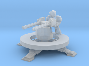 6mm Longsword Defence Platform in Smooth Fine Detail Plastic