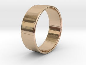 Band Ring  - 14K Rose Gold Plated in 14k Rose Gold Plated Brass
