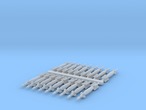 1:200 Scale Paveway LGBs  in Smooth Fine Detail Plastic