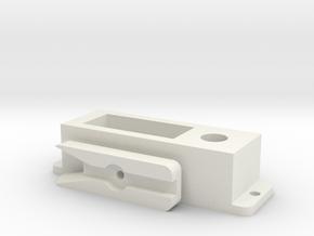 3 standenschakelaar print onderdelen in White Natural Versatile Plastic