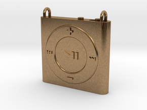Pendant iPod Shuffle in Natural Brass