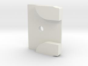 Styrstopp RG BK1R Mode 2: 9 grader in White Natural Versatile Plastic