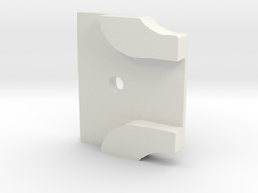 Styrstopp RG BK1R Mode 1: 14 grader in White Natural Versatile Plastic