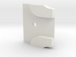 Styrstopp RG BK1R Mode 1: 12 grader in White Natural Versatile Plastic