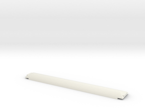 NZ120 A/AO Carriage Roof in White Natural Versatile Plastic