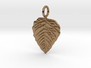 Metal Leaf in Natural Brass
