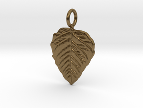 Metal Leaf in Natural Bronze