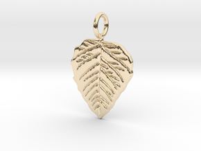 Metal Leaf in 14k Gold Plated Brass