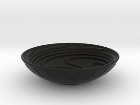 beggar's bowl in Black Natural Versatile Plastic
