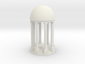 Tempel V2 (89mm) - 1:120 in White Natural Versatile Plastic