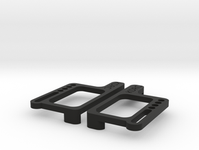 B6 LCG battery plates in Black Natural Versatile Plastic