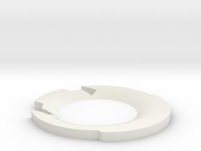Graflex Lip Accuracy Mod for Korbanth 2.0 Replicas in White Natural Versatile Plastic