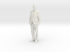 Printle F Pedro Almodovar - 1/18 - wob in White Natural Versatile Plastic