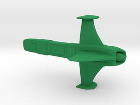 Brakiri - Tashkat (w/o base) in Green Strong & Flexible Polished