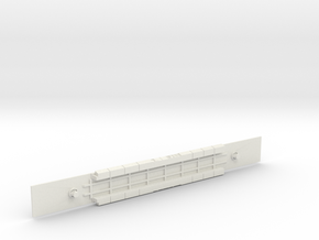 AMTRAK Viewliner 2 Chassis  in White Natural Versatile Plastic