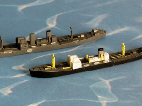 "German Auxiliary Cruiser HSK ""Pinguin"" 1/2400 in Smooth Fine Detail Plastic"