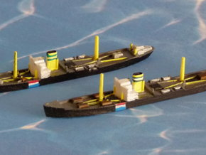 German Auxiliary Cruiser HSK Orion 1/1800 in Smooth Fine Detail Plastic